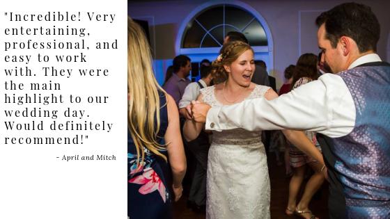 April and Mitch Wedding Testimonial