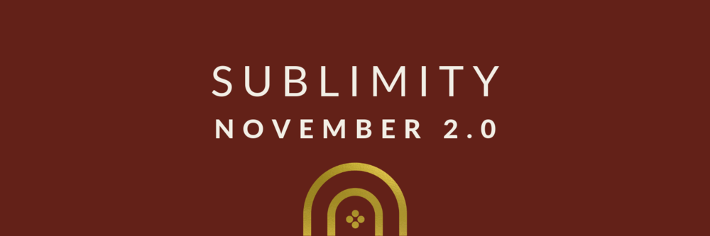 Christa Fontaine | Sublimity Playlist - November 2018 2.0