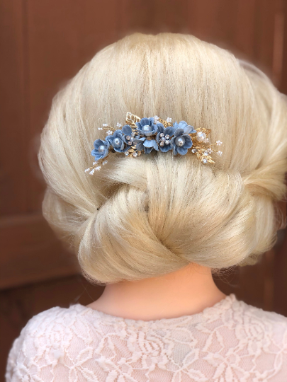 Soft Updo style.