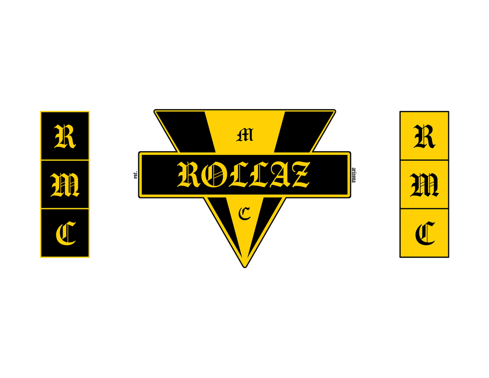 Rollaz Motorcycle Club Logo