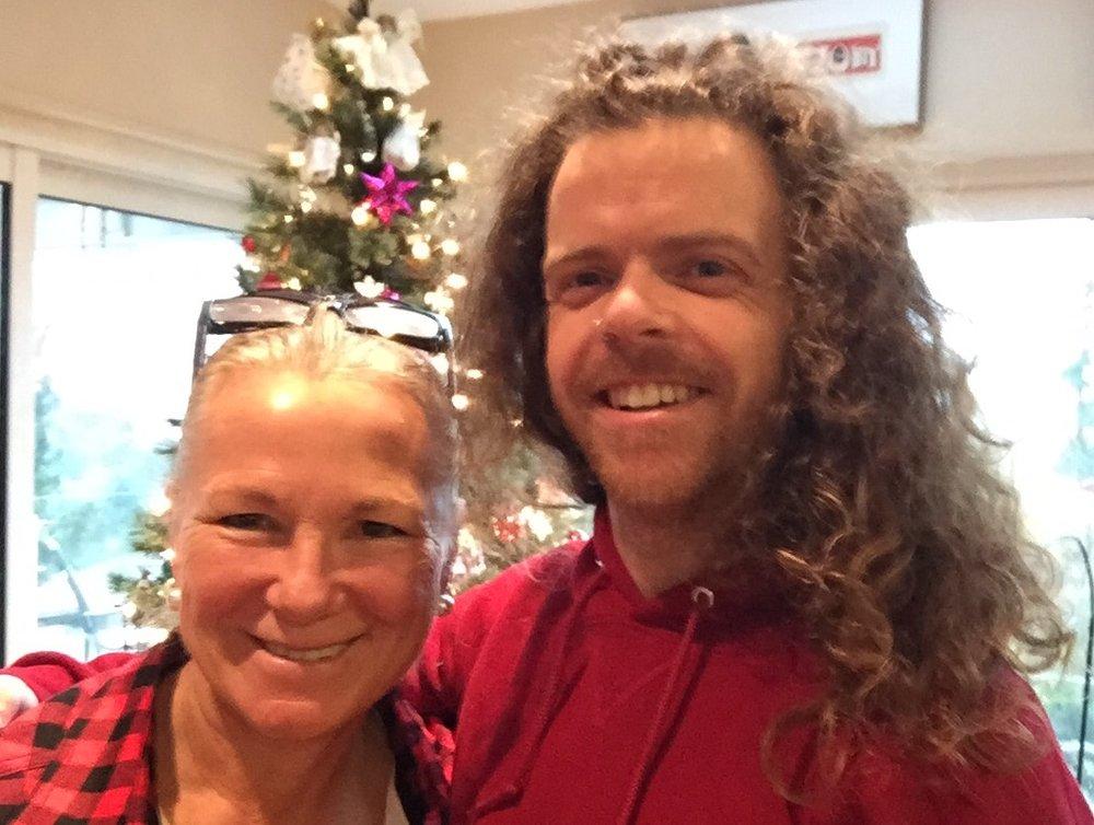 My Lovely Host Annette Wilson-Blair and I