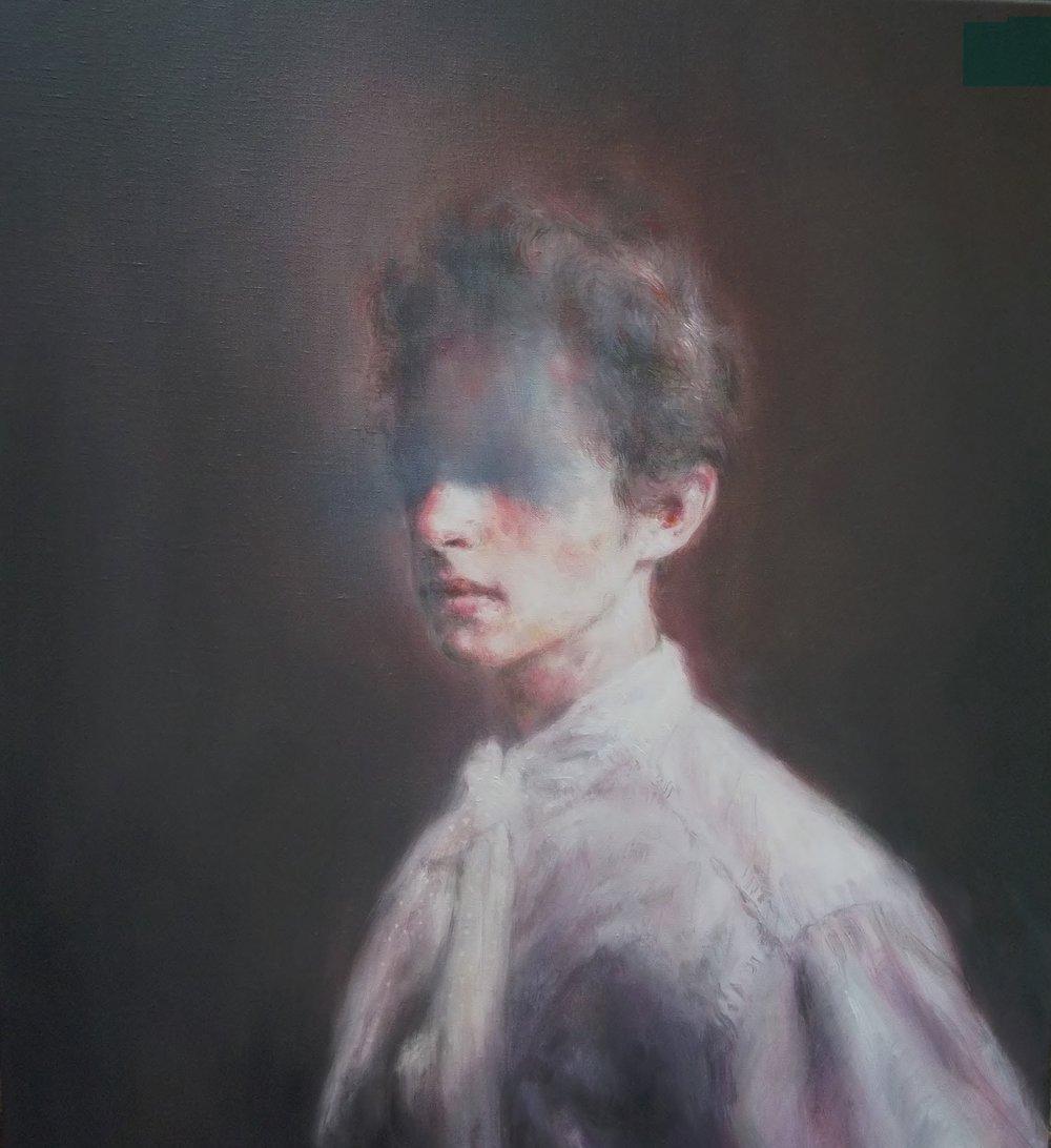 2 Le Dormeur du Val (Omaggio a Arthur Rimbaud) 2015 olio su lino 45x50.JPG