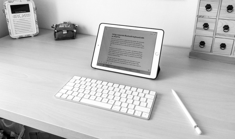 dab4e130a7e The pros and cons of using a separate Bluetooth keyboard with an iPad Pro