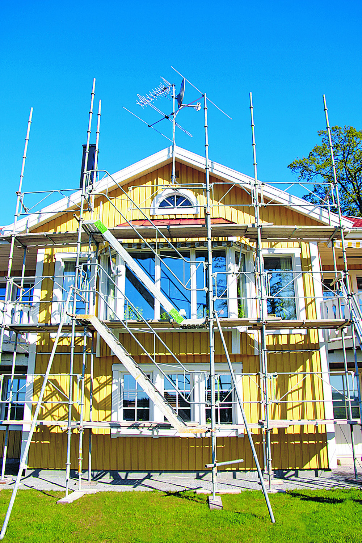 Det är ofta mer komplext att bygga till än att bygg ett nytt hus.