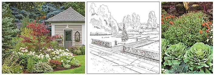 - Nu vaknar trädgården till liv och vi inspireras av lusten att forma husets vackraste rum. En trädgård kan se ut på många sätt och en stor del av nöjet är att planera hur den ska bli.