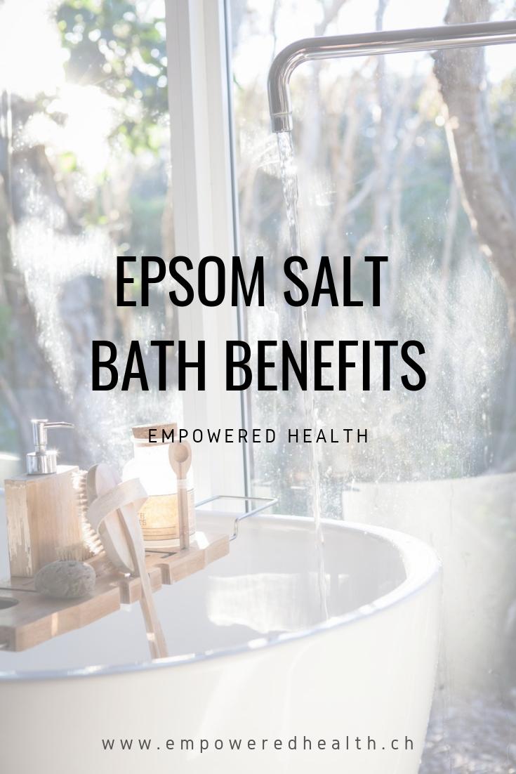 Epsom Salt Bath Benefits — Empowered Health | Geneva