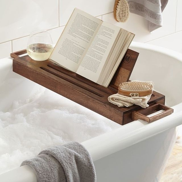 Self-care is essential to our health and wellness. Everyone is unique, so their version of self-care can of course differ, but for me personally, I love soaking in a bubble bath with a glass of wine, soothing music, a calming woodsy scented candle & a good book. . . . In what ways do you practice self-care?
