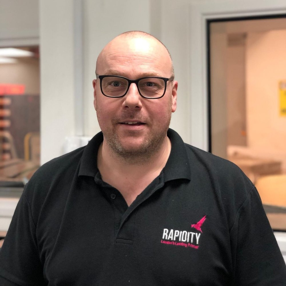 Robert Hawkes    Despatch Manager