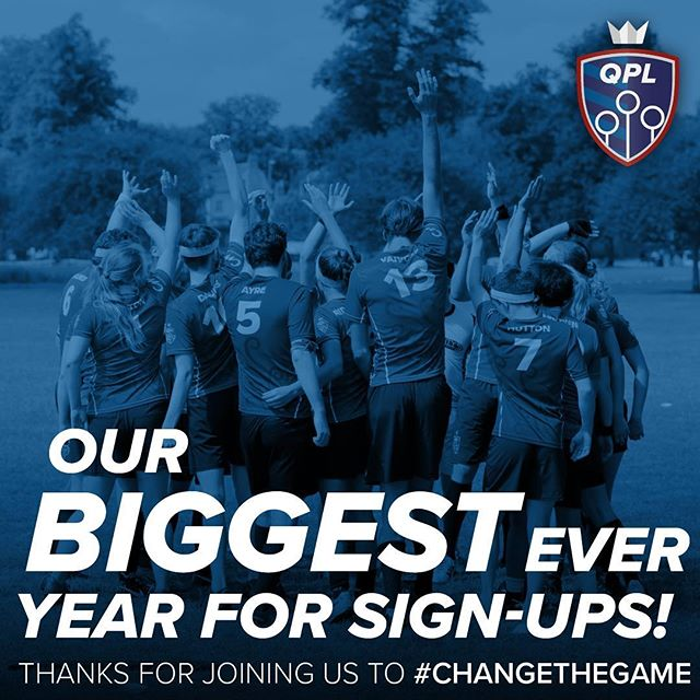 Our biggest year yet. Thank you so much to everyone who signed up, attended tryouts, or sent in a video application - our managers have some very tough decisions ahead!  #quidditch #lgbt #sport #uk #europe