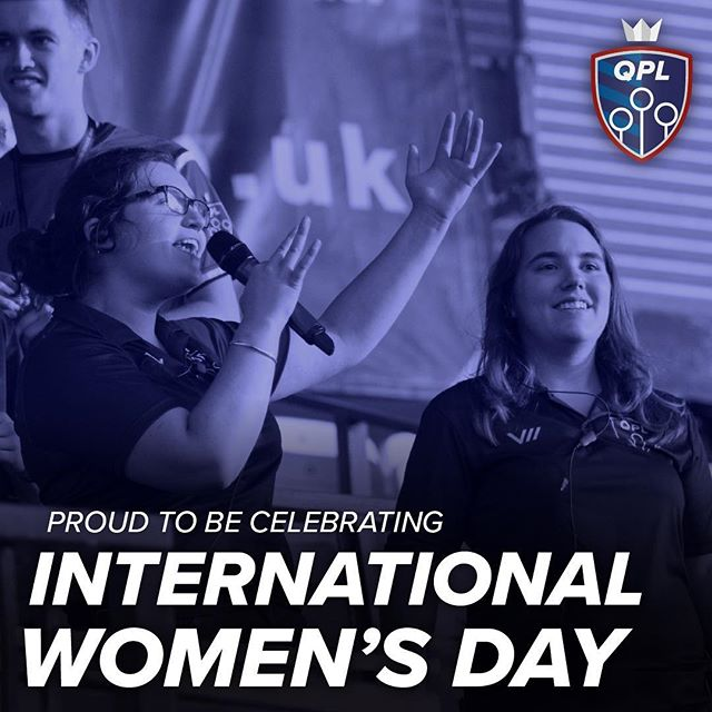 Happy International Women's Day to our players, volunteers, and fans! Today, and every day, you #ChangeTheGame - and we can't overstate how immeasurably grateful we are.  #iwd2019 #iwd #internationalwomensday #quidditch #sport 📸 Rica Biasi
