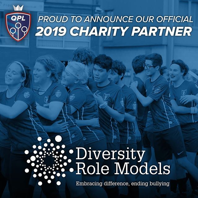 We're delighted to announce @DiversityRM as our 2019 official league #charity partner!  Read more: https://www.quidditchpremierleague.com/news/2019/4/3/drm-2019-official-charity  #LGBTQ #Diversity #Education #quidditch
