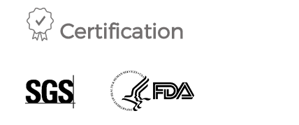 As a proof of high quality, FemaleCup is approved by U.S. Food and Drug Administration (FDA) and by one of the world's leading inspection, verification, testing and certification company SGS.