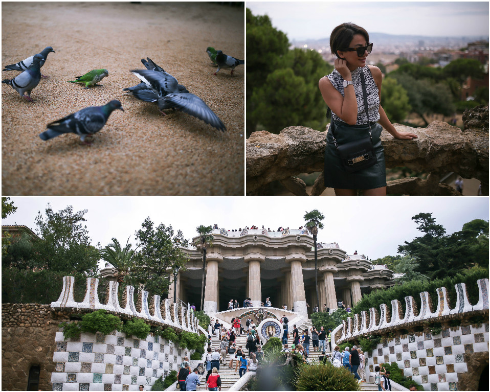 Park Guell - One of Gaudy's must-see's when in Barcelona