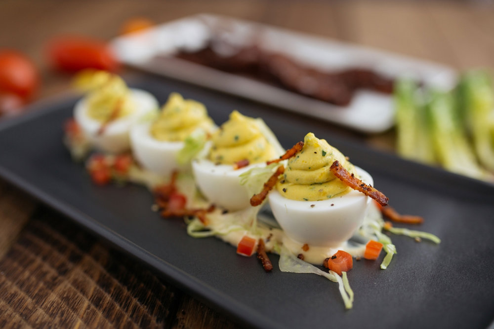 Deviled Eggs Appetizer