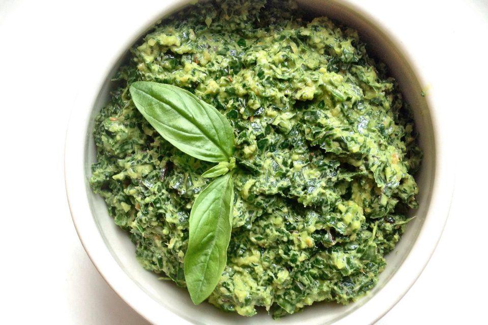 Lemon Kale Pesto