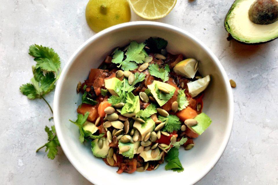 Veggie Squash Chili