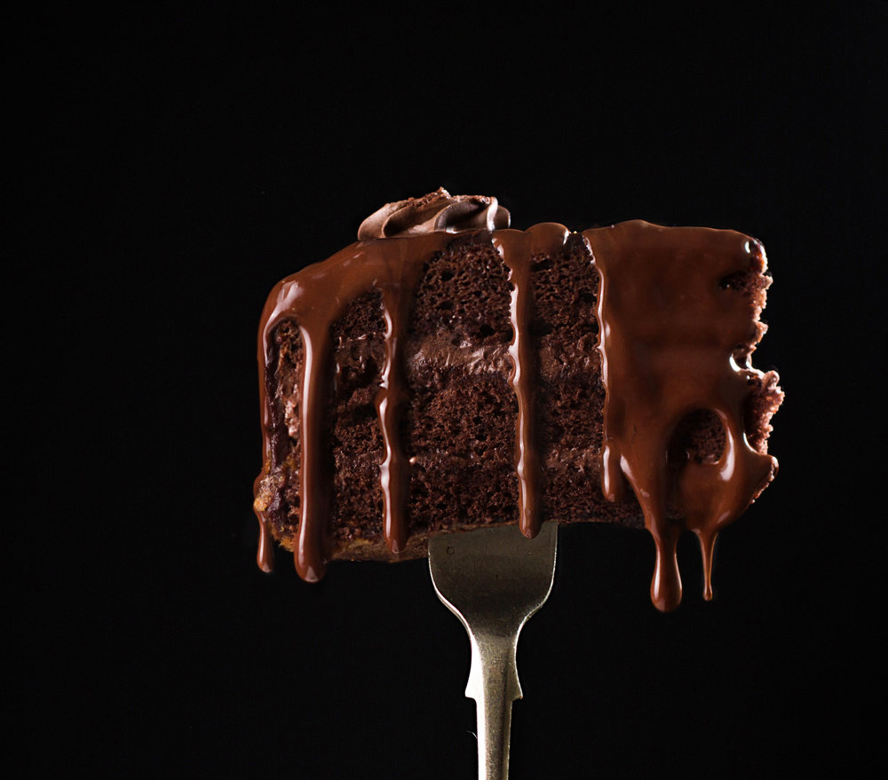 Chocolate cake on fork.jpg