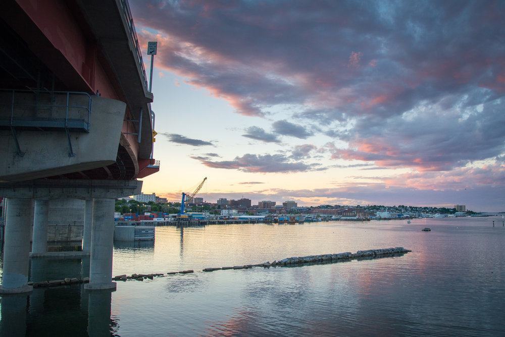 June_2016_Portland_Maine_20160615-DSC_6489 By Corey Templeton June Sunset from Under the Bridge - large.jpg