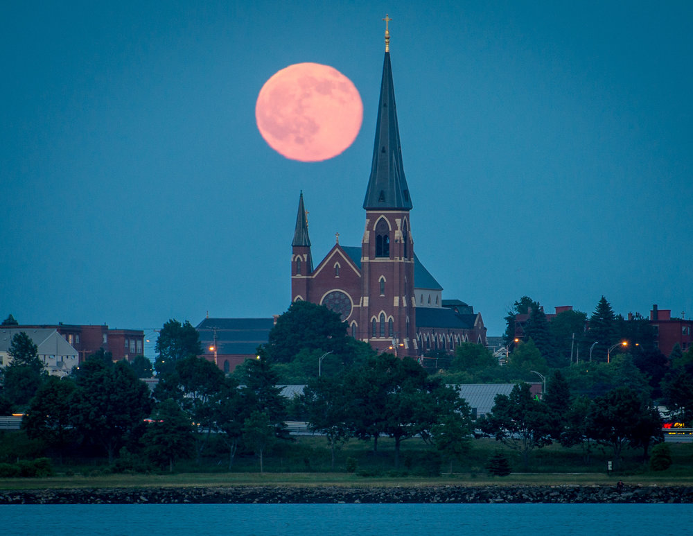 June_2016_Portland_Maine_20160620-DSC_6560 By Corey Templeton Moonrise over the Church - large.jpg