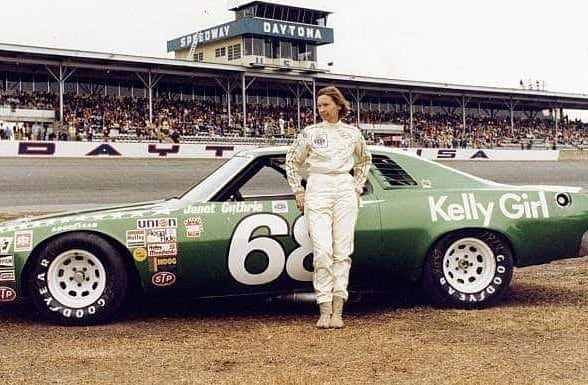 "In honor of Women's History Month, today we recognize another bold leader who broke barriers and made history. Janet Guthrie was the first woman to ""Race"" through the glass ceiling and compete in the Daytona 500.  #womenwholead #jamiefordenver #internationalwomensmonth"