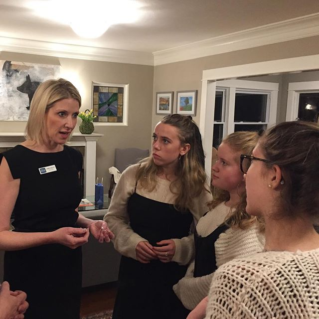Young girls, the leaders of tomorrow, need us to leave them a better Denver, one in which they can feel safe to raise their families. Last night, at a house party in Park Hill , these young ladies and their parents talked to me about mental health and gun violence concerns among other things. #alltogethernow #jamiefordenver #peoplefirst