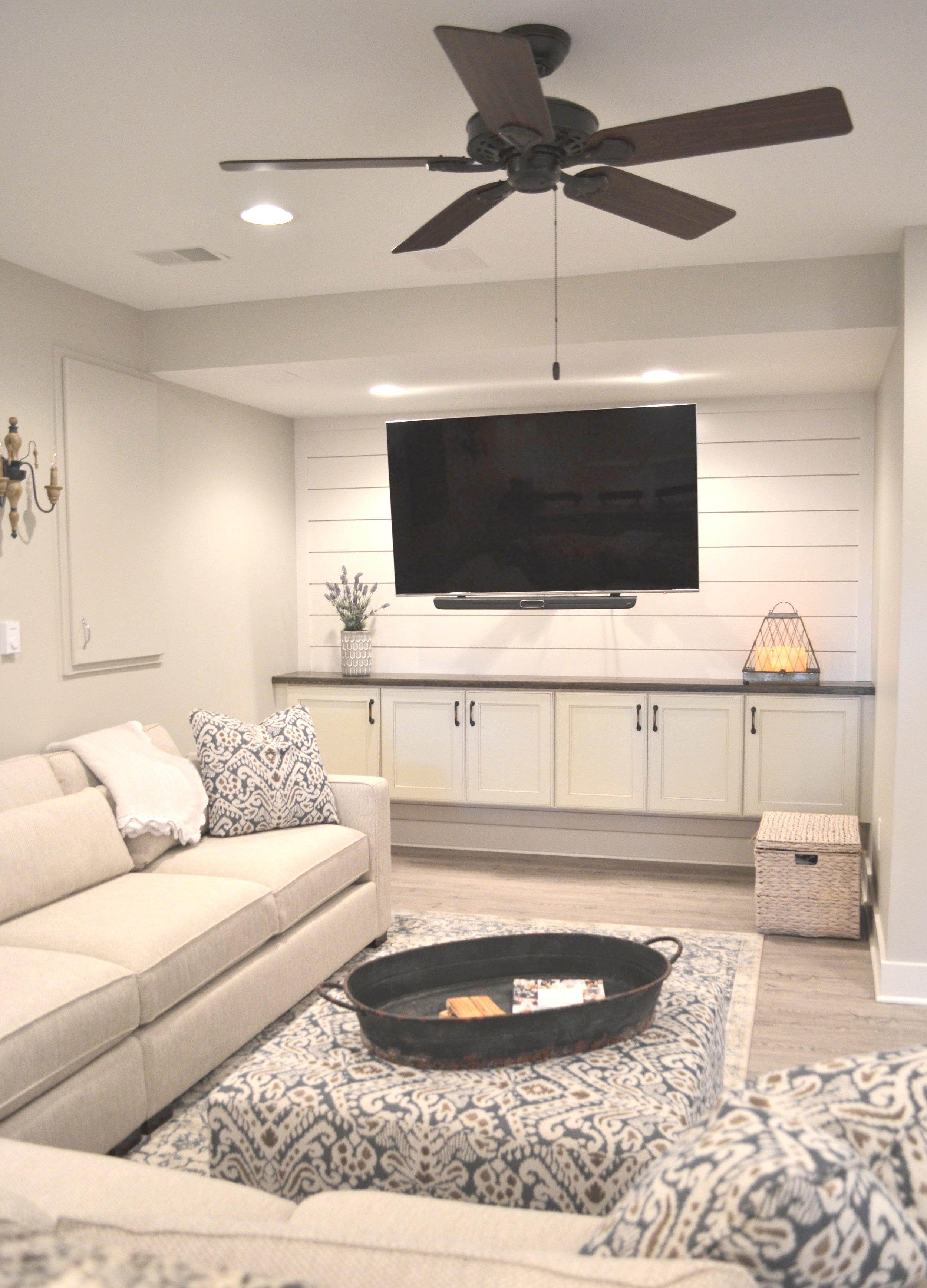 Modern Farmhouse | Our Finished Basement