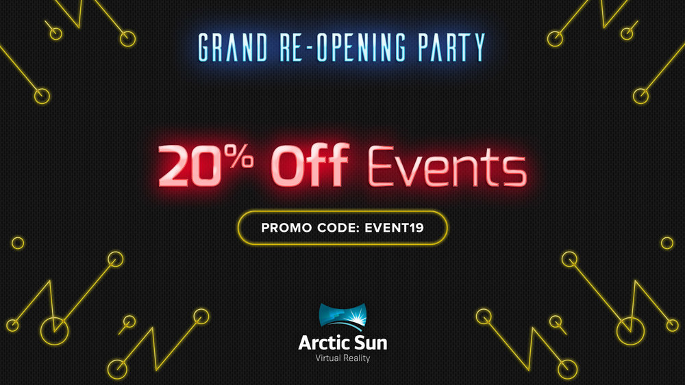 20% Off Events -