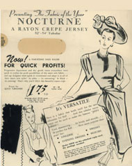 """Nocturne"" Jersey, 1946"