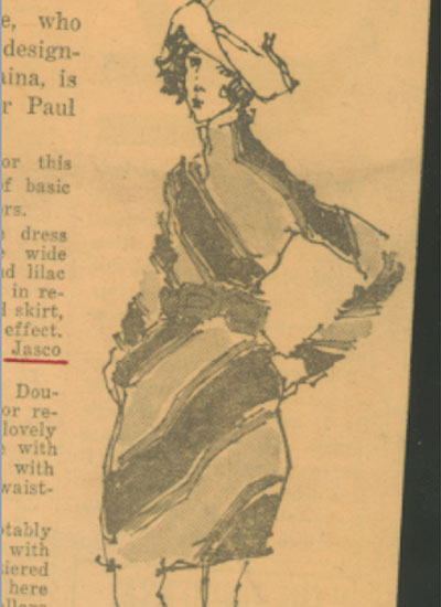 Arthur Doucette for Paul Parnes, 1949