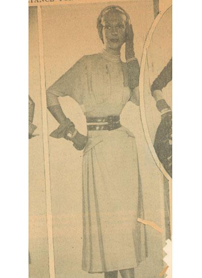Jane Derby, 1949