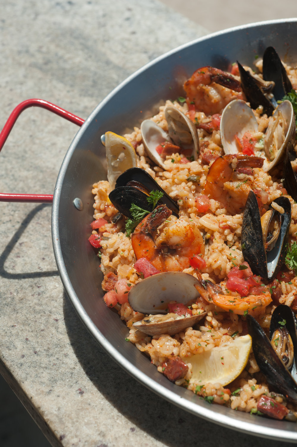 PAELLA - EXCLUSIVELY SATURDAY AND SUNDAYFROM 5:00PM UNTIL CLOSERESERVATIONS RECOMMENDED
