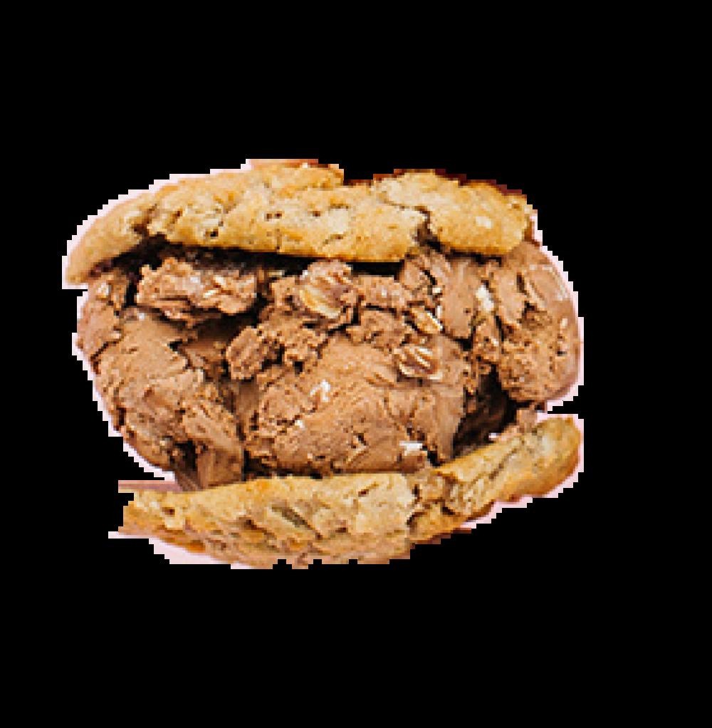 Half Baked   Oatmeal Cookies  No Bake Cookie Ice Cream