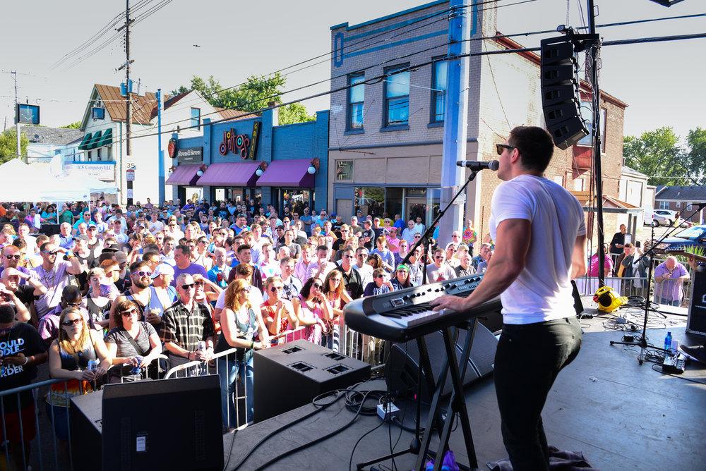 Steve Grand at Louisville Pride Festival