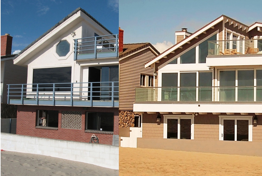 BEFORE & AFTER - Sometimes pictures say it so much more effectively than words. Having the pleasure of turning these ducklings into swans and helping the client fully realize their dream for the home are an architect's greatest joy.LEARN MORE