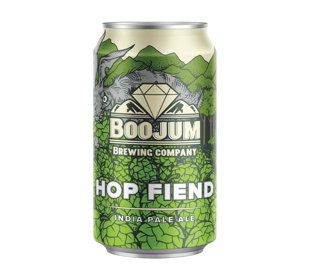 Hops hops hops. Nothing else matters to a hop fiend. They gather them up, admire them, hoard them, love them, devour them, & are always thirsting for more.  Generously hopped with a glorious blend of Mosaic, Simcoe & Citra, this IPA is the perfect blend of tropical fruit, citrus & pine. For hop lovers & hop lovers in training.  6.5% 80 IBUs