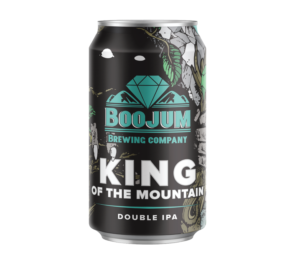 From the highest cave in the range, the Boojum watches over his domain. Others fall in line behind the biggest beast, the most dangerous creature. In his honor, we created a beast of a beer, able to stand up to all others. Double the hops. Double the malt. We didn't hold back on the beer destined to be king.  8% 110 IBUS