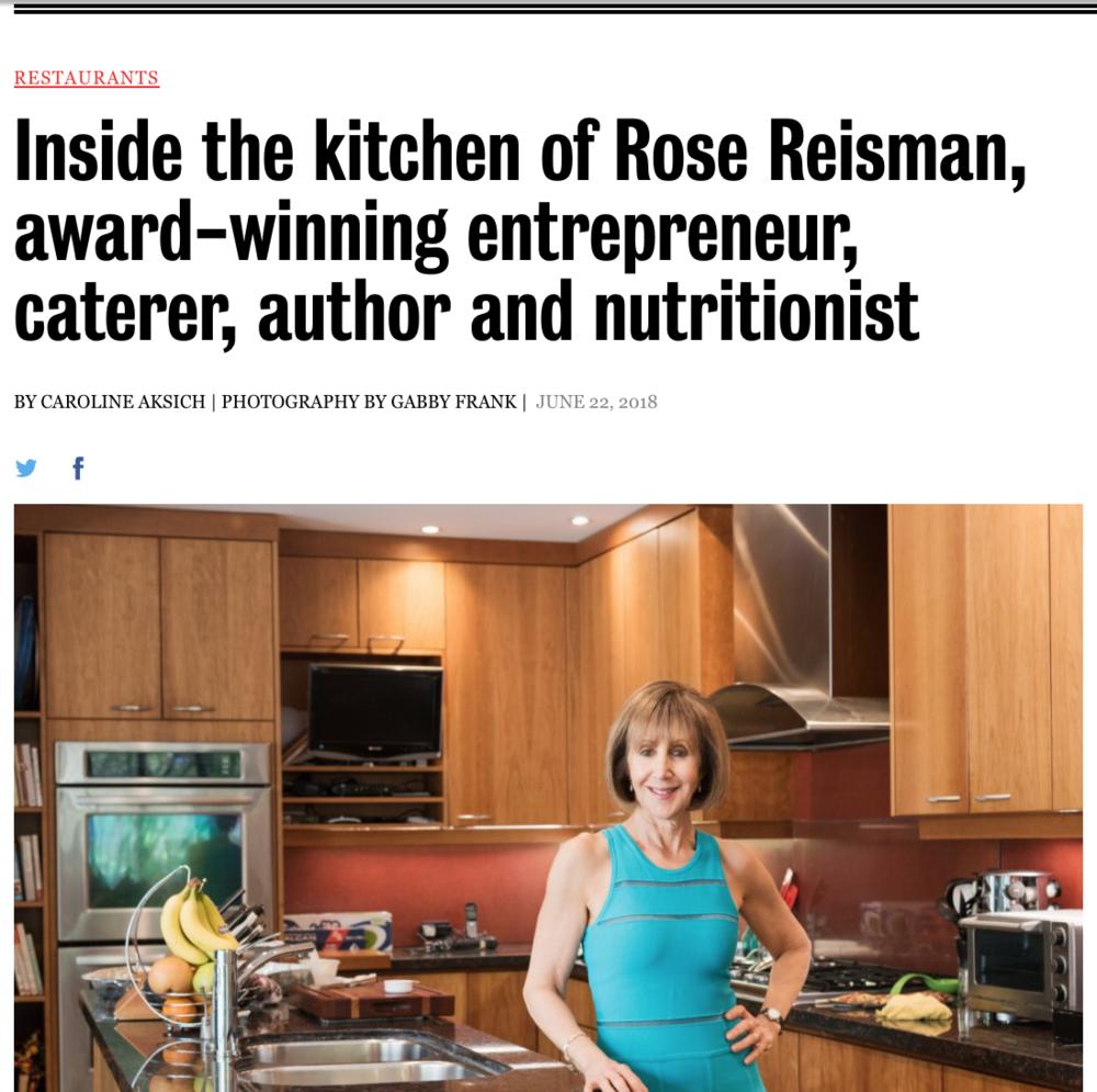 Toronto Life - Rose Reisman Catering