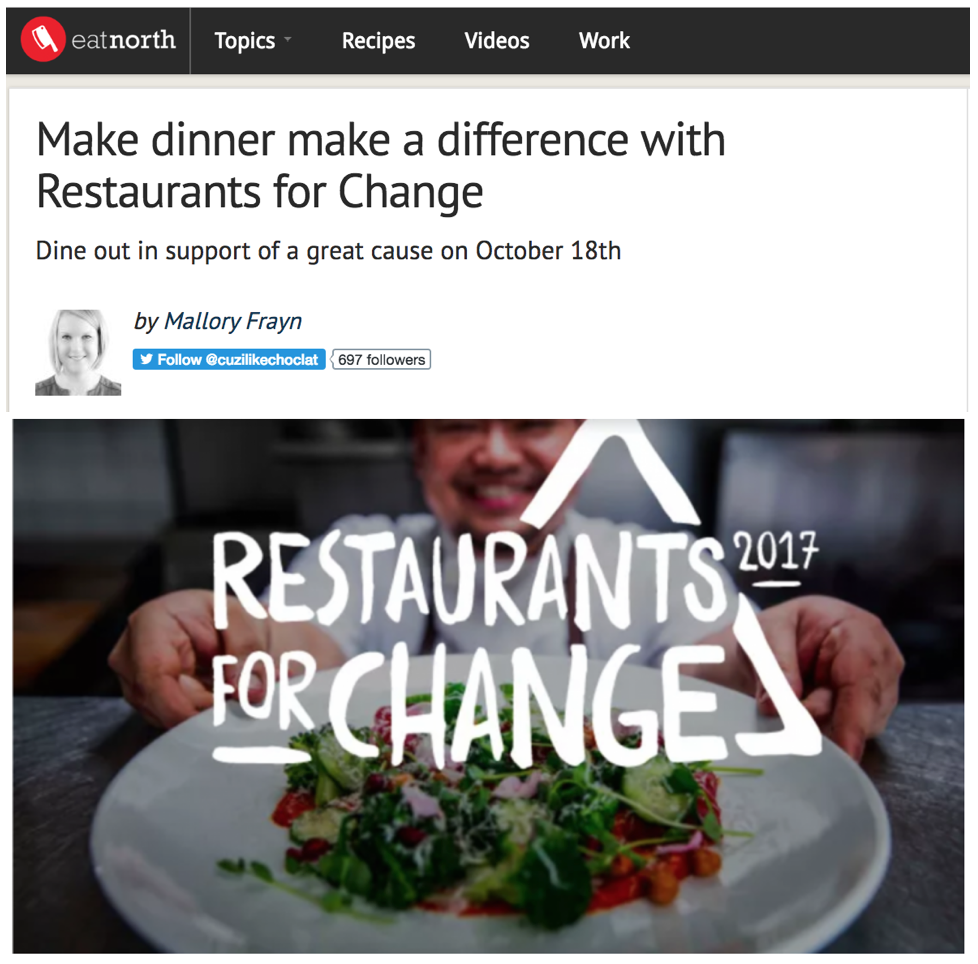 Eat North - Restaurants for Change