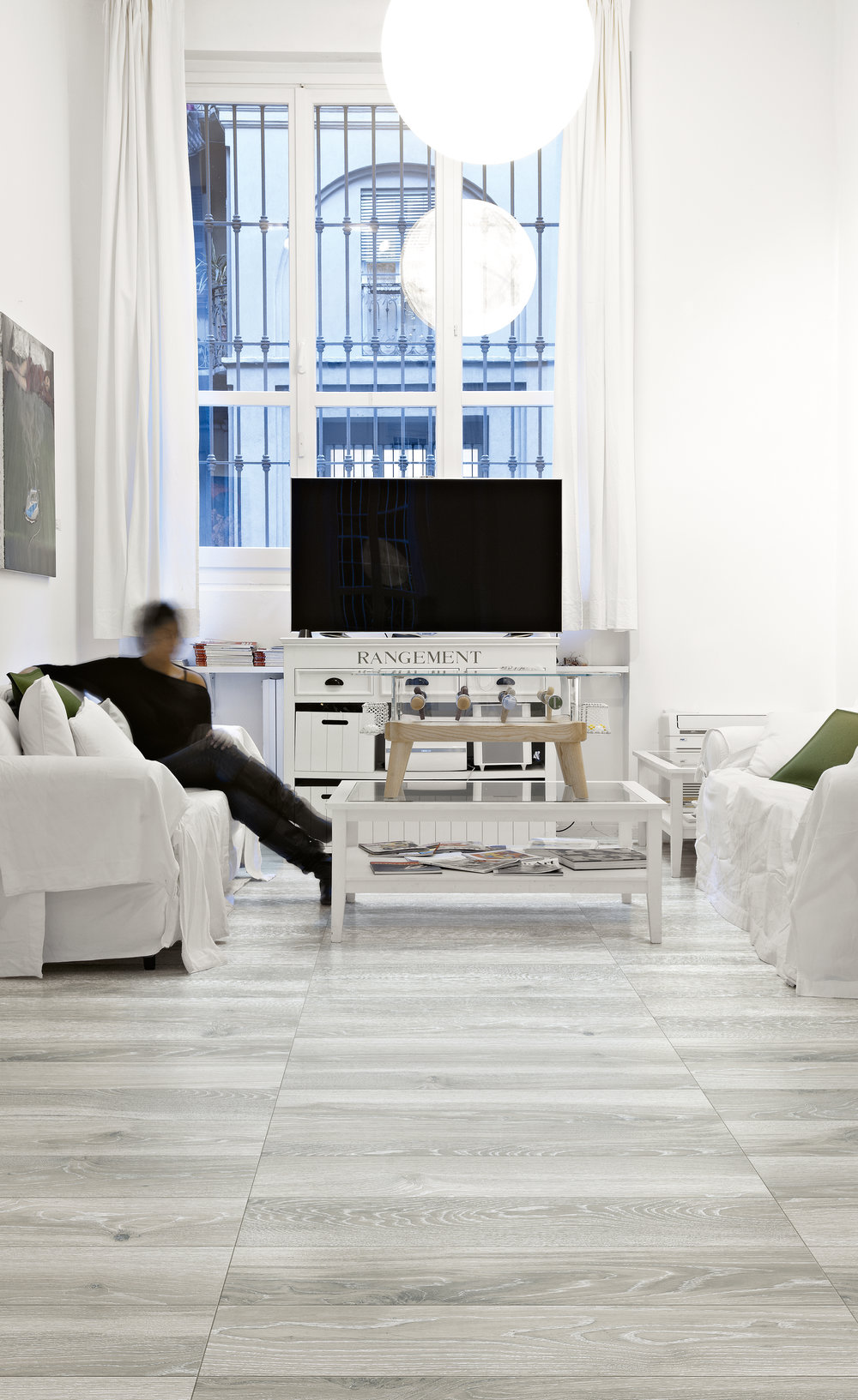 Why Use Porcelain Tile? - There are many reasons to choose impervious porcelain tile over other floor coverings. With a wide array of design options and an unmatched durability, porcelain tile is the least expensive option over the lifetime of a building with a 60+ year life expectancy.Porcelain is:- Durable- Impervious to water- Resistant to germs, bacteria and mold- Scratch resistant- Fade resistant- Fire resistant- Easy to maintain and clean