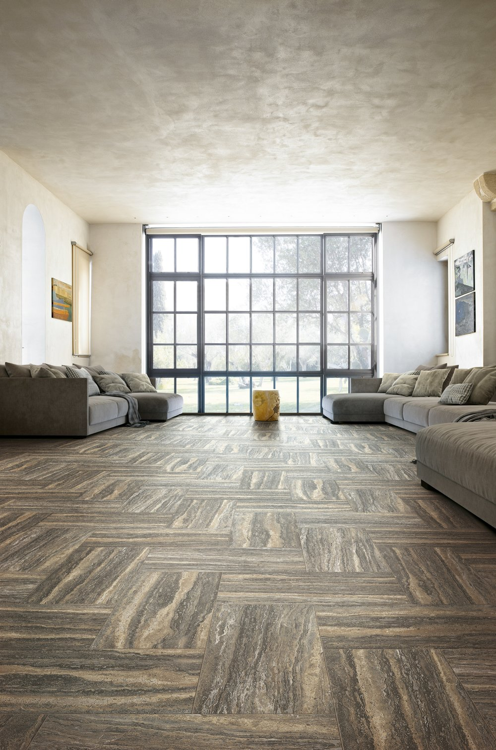 What Is a Rectified Tile? - Rectification is the process of grinding down the edges of porcelain tiles, in order to create tiles that are all exactly the same size. This allows for a smaller grout joint, which creates a more natural and smooth appearance. Rectified tiles can be more expensive as the grinding of the edges is an additional process completed on the tiles.
