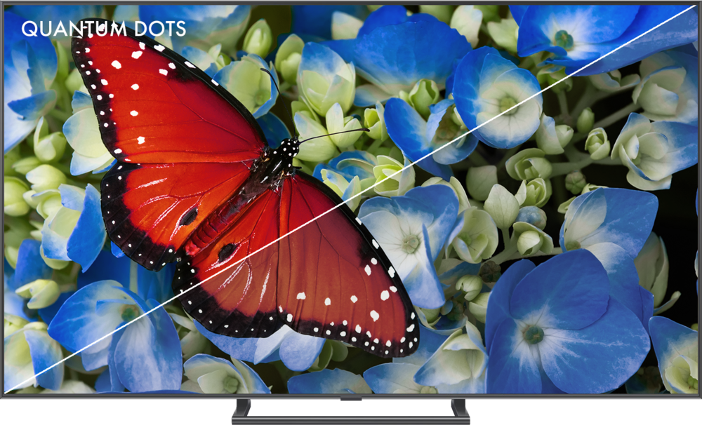 UNMATCHED COLOR - Nanosys Quantum Dots produce the purest colors– no other display technology even comes close. Quantum Dot displays can reproduce nearly every color found in nature for a picture so accurate, it's the next best thing to actually being there.