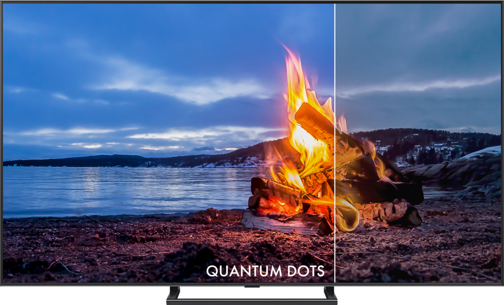 REALISTIC BRIGHTNESS - Nanosys Quantum Dots enable displays to produce more light with less energy than any other material on earth for a picture that is more lifelike from the most brilliant brights to the deepest darks.