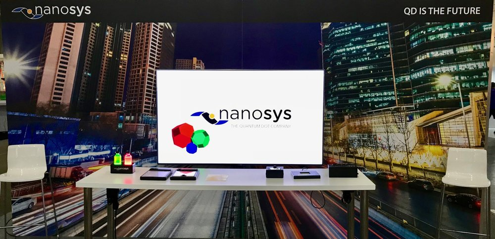 Nanosys Hands On Area