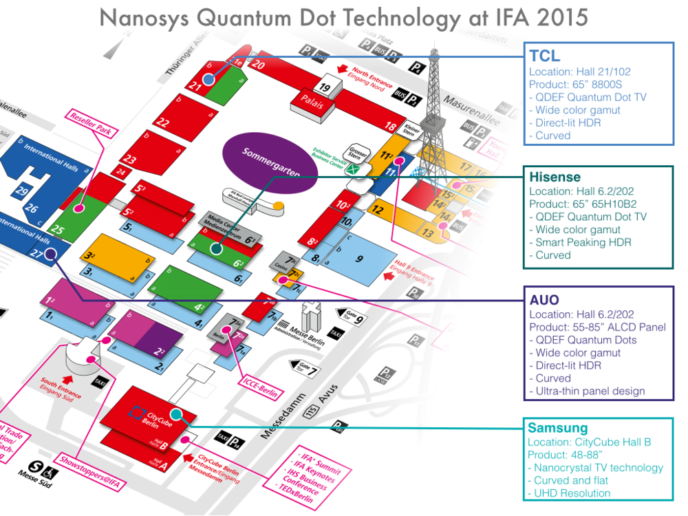 Quantum Dots are sure to be one of the hottest TV technologies at IFA 2015. Here's your guide to the action...