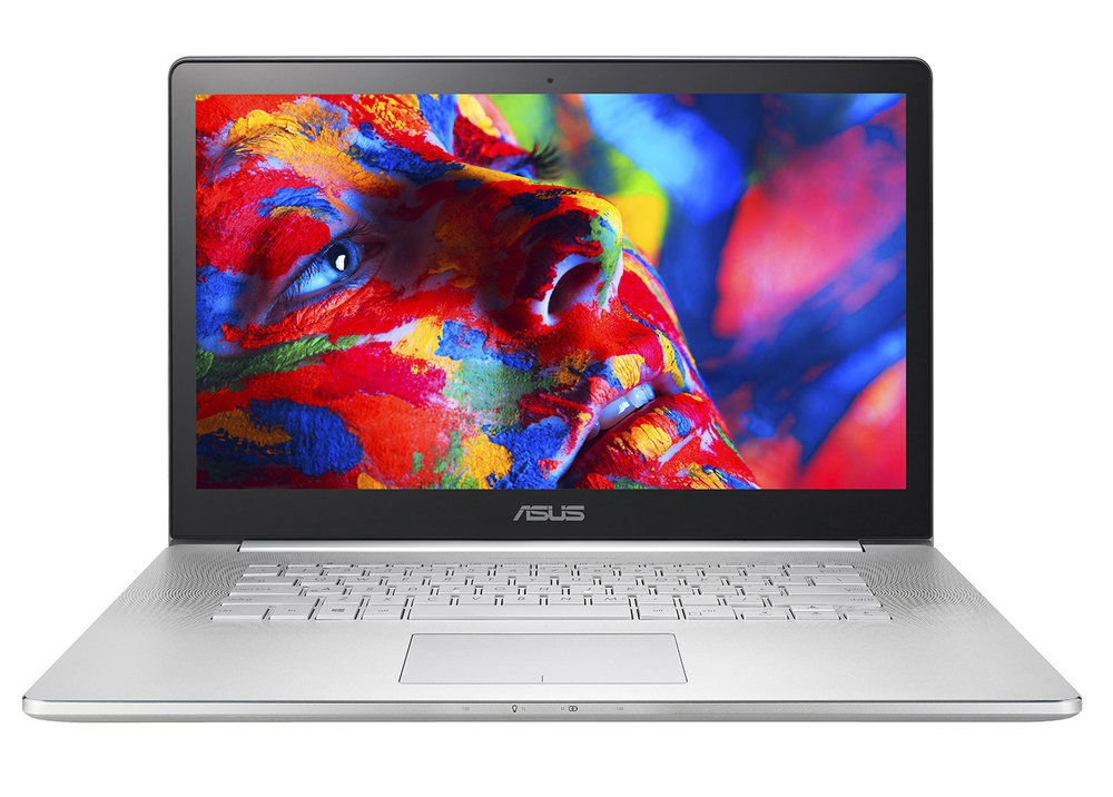 The Asus NX500 uses Quantum Dots to deliver a wide colour gamut