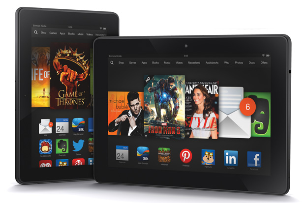 Dotty Displays:  The Kindle Fire HDX is one of the first consumer devices to use displays with quantum dots.