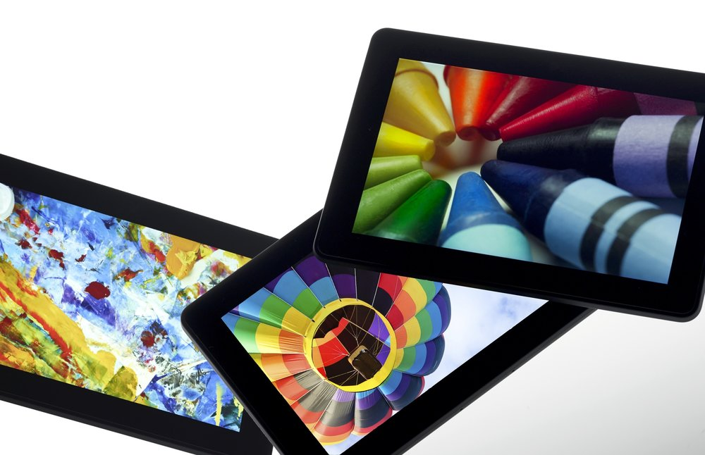 Amazon Kindle Fire HDX 7 featuring a Quantum Dot display from Nanosys and 3M
