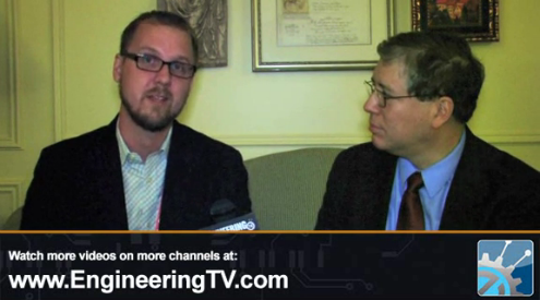 Jeff Yurek of Nanosys talks quantum dot display technology and color gamut with engineeringTV at CES 2012