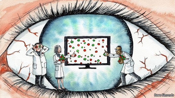 Nanosys quantum dot technology in The Economist: Dotting the eyes