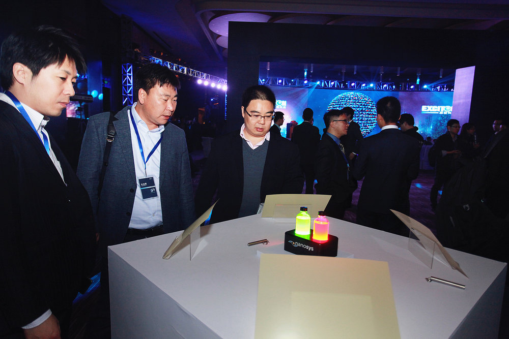 Nanosys Quantum Dots on Display